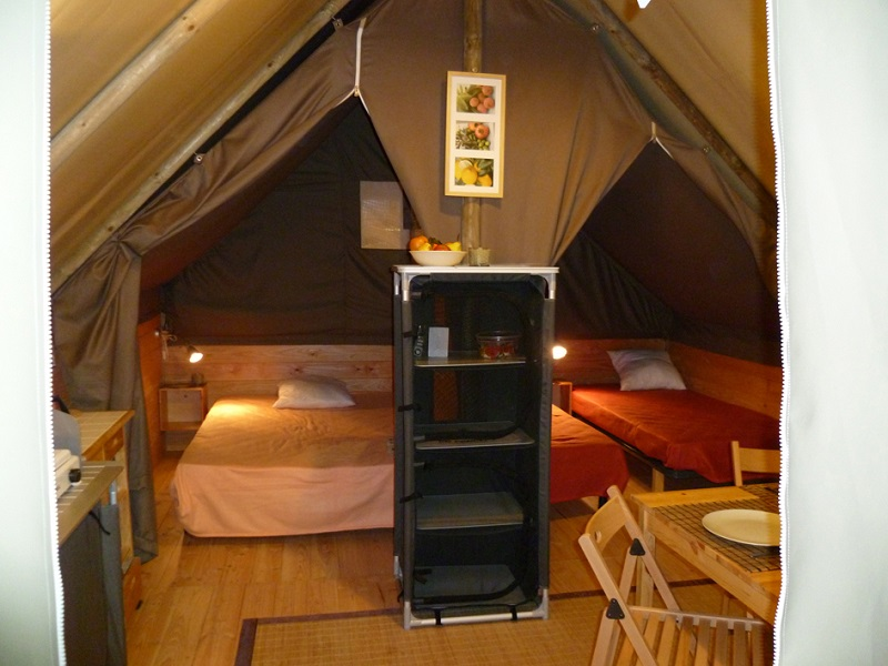 Interieur ecolodge